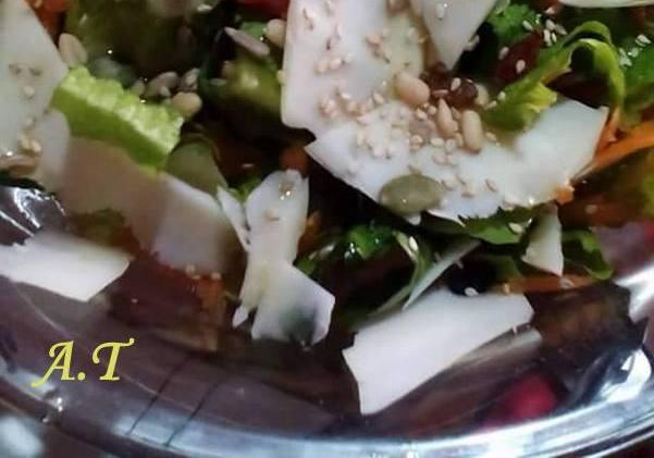Salad with graviera