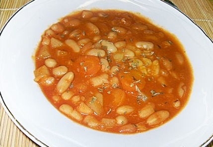 Traditional Bean soup
