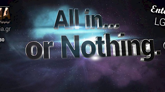 All in ...or Nothing 1 / Winter Party / Senso Club / 14/3/2015