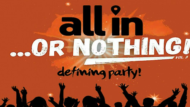 All in...or Nothing vol 2 - Winter Party - Senso Club - 23.4.2016